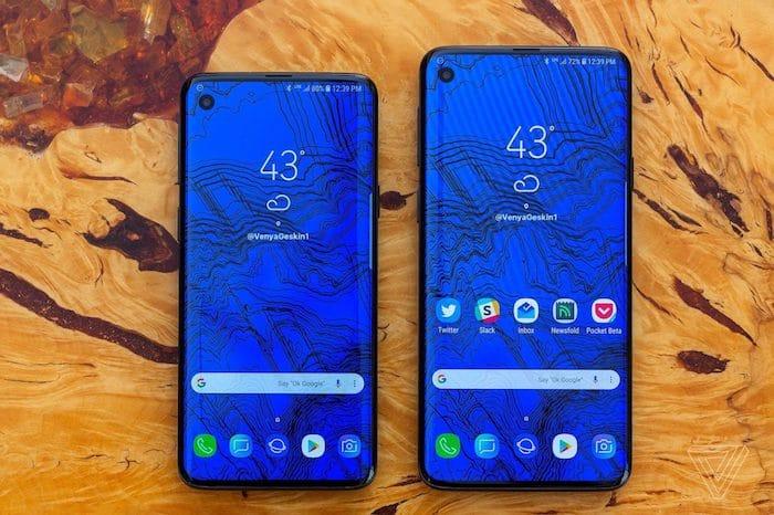 smartphone haut de gamme sans encoche