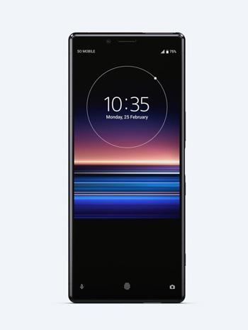 telephone sony xperia 1 noir 7150 1 - Quel smartphone haut de gamme sans encoche acheter ?