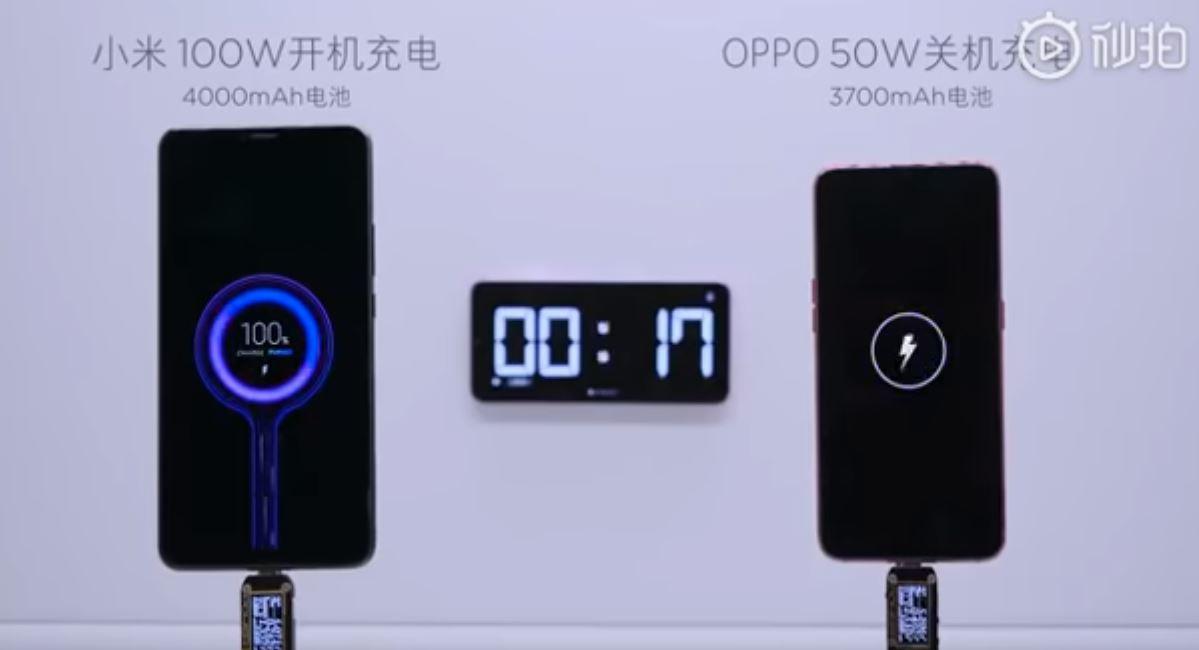Xiaomi recharge un smartphone en 17 minutes !