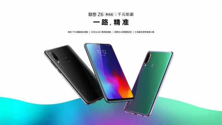 Le Lenovo Z6 Lite est officiel en Chine