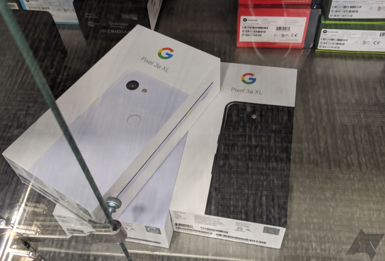 Google Pixel 3a - Source : Android Police