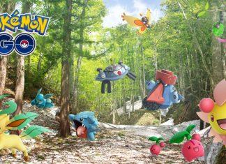 Pokemon Go Sinnoh