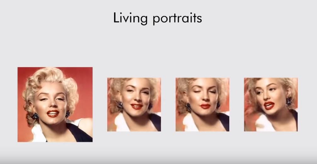 Samsung a développé une IA permettant de donner vie à des portraits