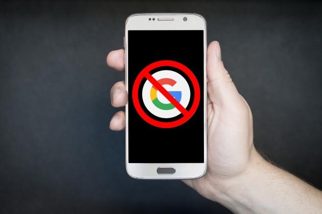 Smartphone sans Google