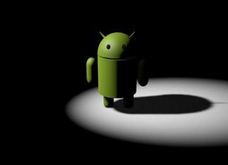 Mode sombre d'Android Q
