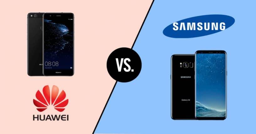 Samsung et Huawei ont mis un terme à leur conflit sur les brevets