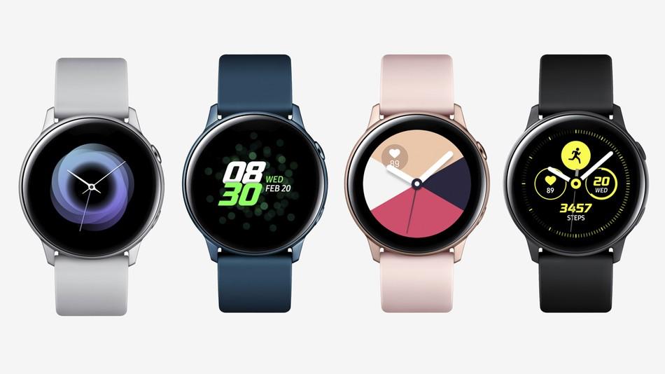 Une mise à jour porte les nouvelles fonctionnalités de la Galaxy Watch Active sur les anciennes montres Samsung