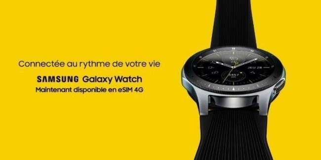 samsung galaxy watch esim 4g - Samsung : la Galaxy Watch disponible en version eSIM
