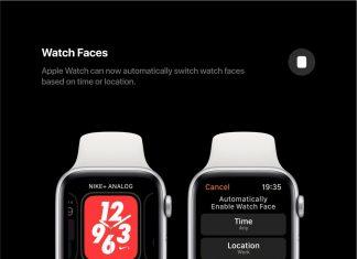 Un concept de WatchOS 6