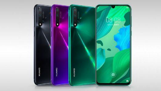 Huawei présente son nouveau smartphone : le Nova 5