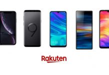 Rakuten comparatif des smartphones