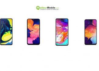 Samsung Galaxy A Comparatif