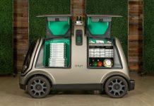 Des véhicules autonomes vous livrent vos pizzas Domino's