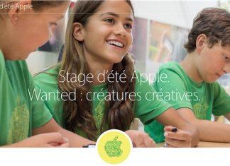Apple Store : les inscriptions aux stages d'été pour les enfants sont ouvertes
