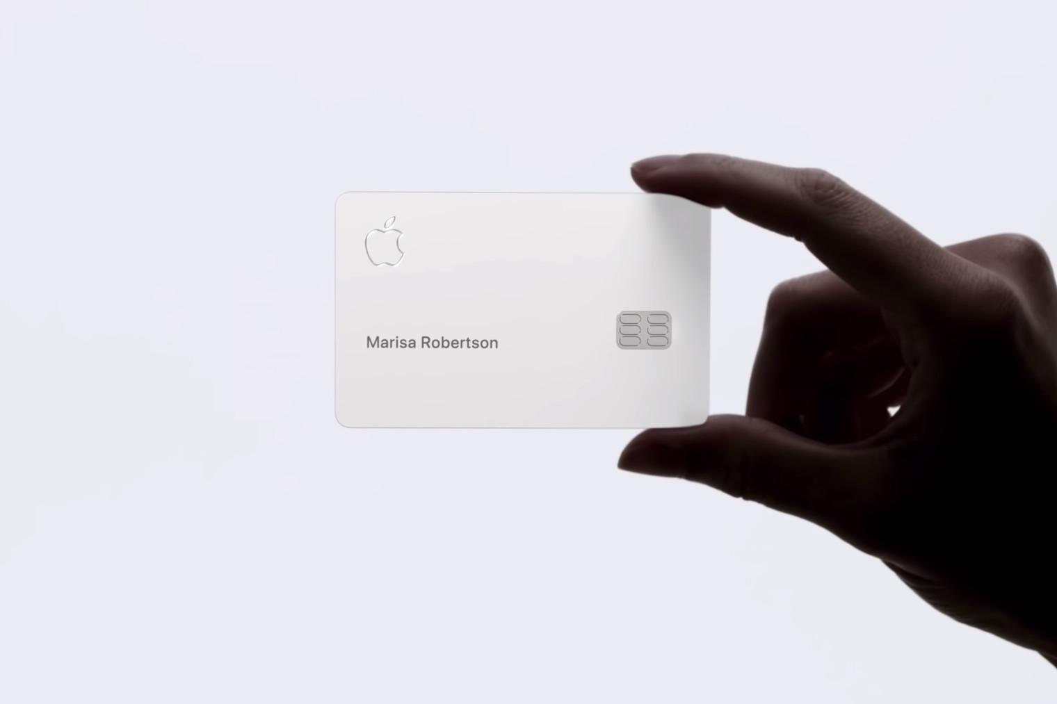 L'Apple Card va arriver en août