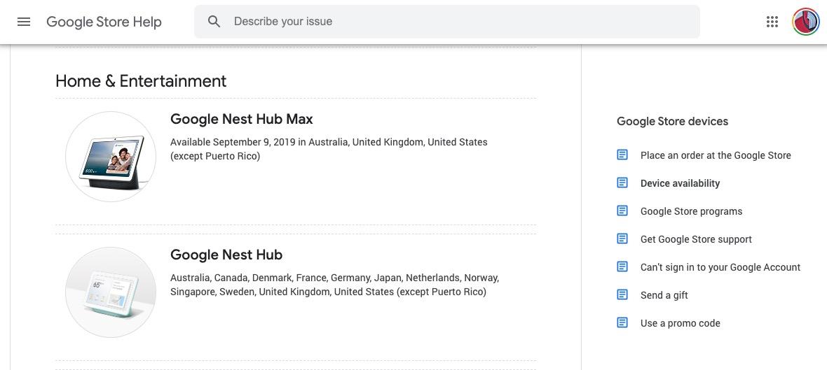 Date de sortie Nest Hub Max - Nest Hub Max, l'écran connecté version XXL de Google va sortir en septembre