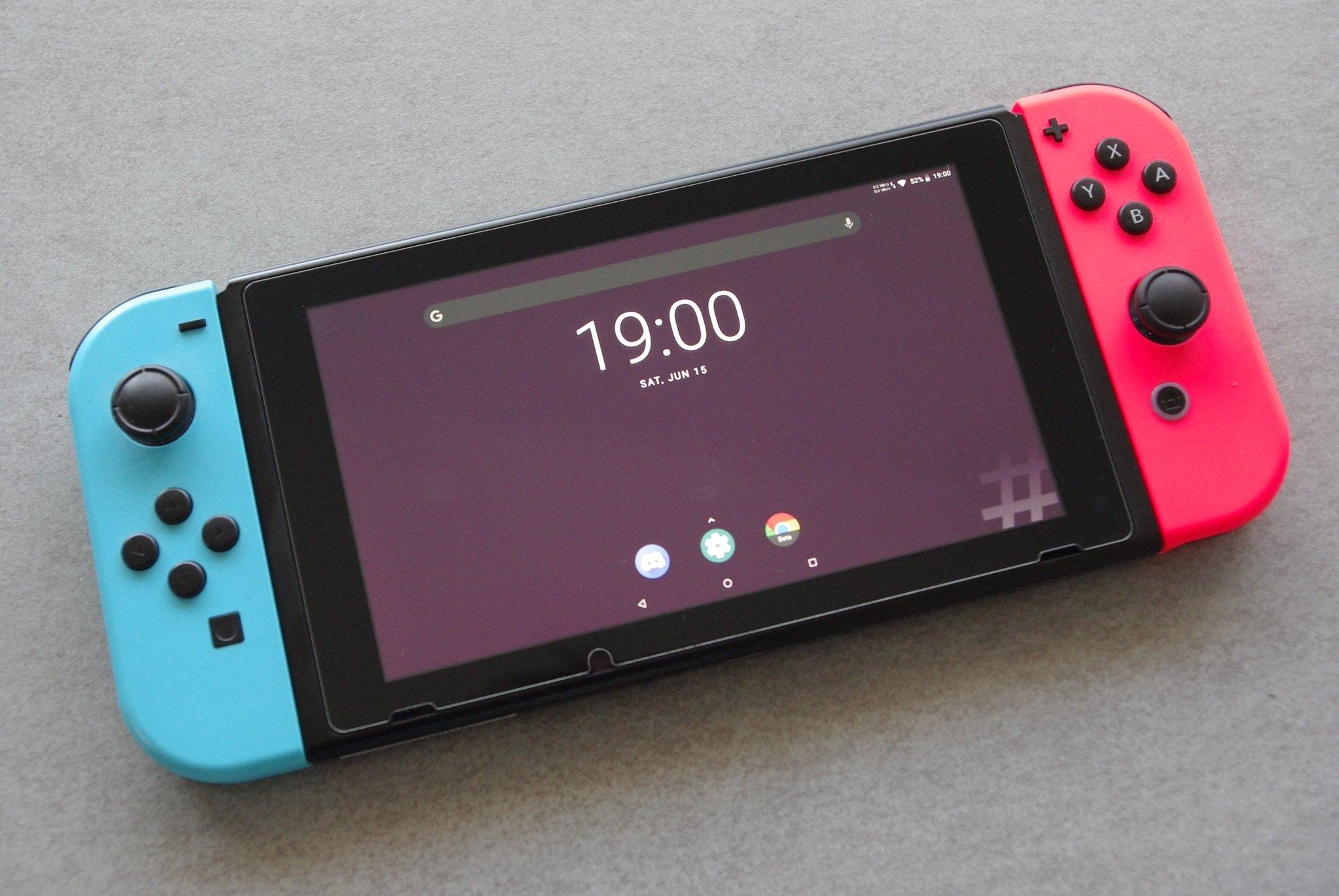 Un groupe de Hackers a réussi à porter Android sur la Nintendo Switch