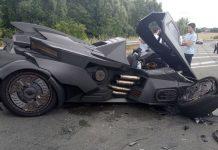 Insolite : le « Batmobile » a eu un accident dans le Nord