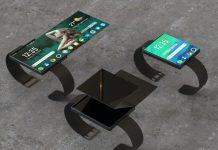 Oppo veut créer une montre/smartphone avec écrans pliables