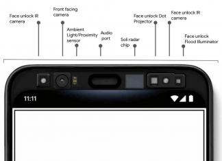 Les Google Pixel 4 auront droit à de la reconnaissance faciale et du contrôle par gestes
