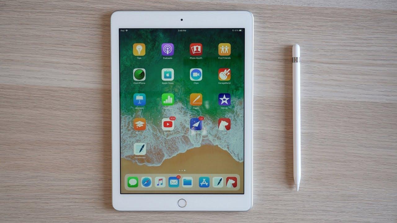 Apple préparerait un iPad 7 avec écran de 10,2 pouces pour l'automne prochain