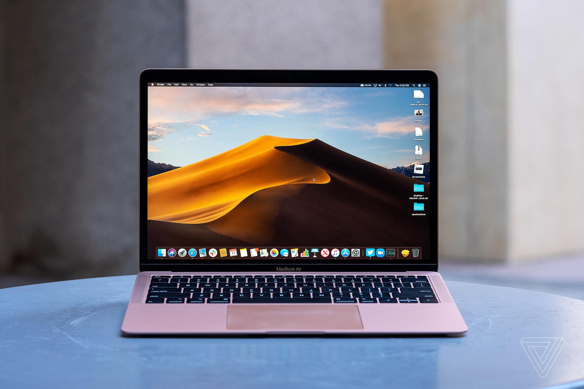 MacBook Air 2019 : des SSD moins performants que pour 2018 ?