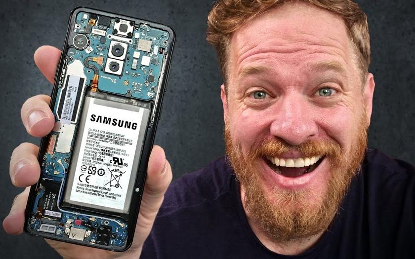 Vidéo : quand un youtubeur fabrique lui-même son Galaxy S9 Plus de A à Z