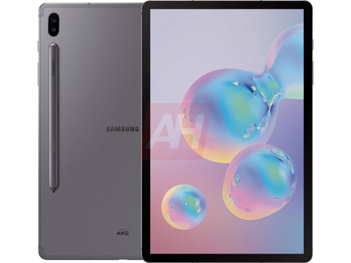 samsung galaxy tab s6 1 - La Samsung Galaxy Tab S6 se dévoile en images