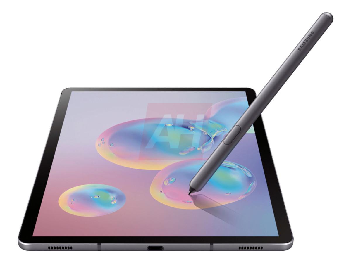 samsung galaxy tab s6 2 - La Samsung Galaxy Tab S6 se dévoile en images