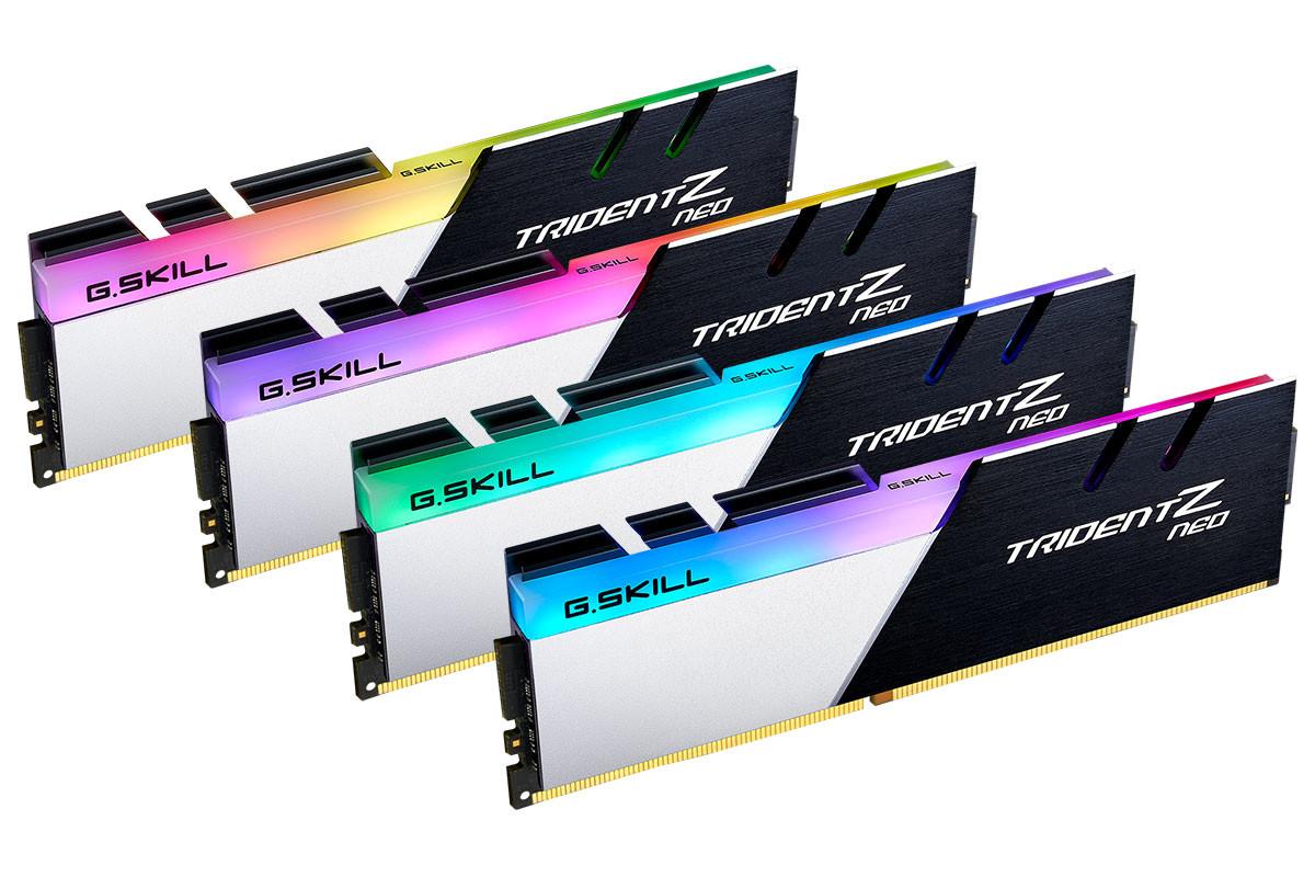 Trident Z Neo : la nouvelle gamme de mémoire DDR4 de G.Skill est officielle
