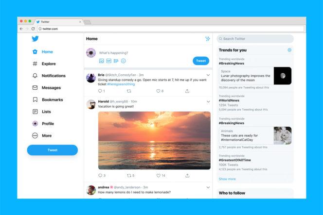 Twitter : un nouveau design dévoilé