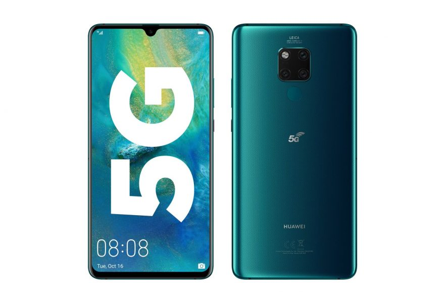 Huawei Mate 20 X 5G 881x600 - Le Honor View 30 sera compatible 5G