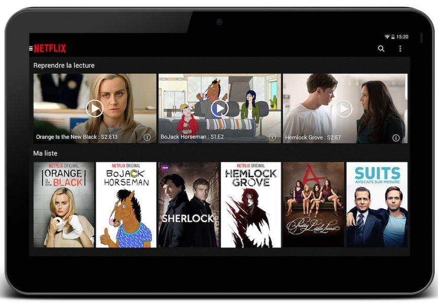 Netflix fausse plateforme