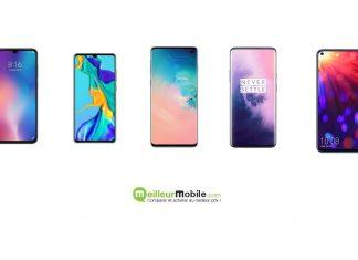 Smartphones du premier trimestre 2019