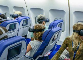 casque VR avion