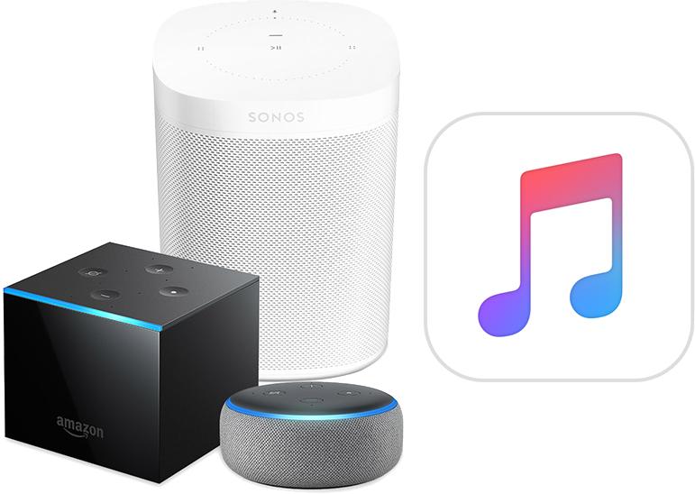 Amazon : Apple Music désormais accessible depuis les enceintes Alexa