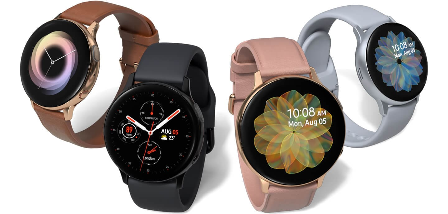 Samsung : la Galaxy Watch Active 2 officielle et se dote d'une fonction ECG