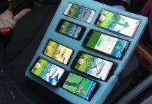 Etats-Unis : un conducteur surpris en train de jouer à Pokémon Go avec 8 smartphones différents