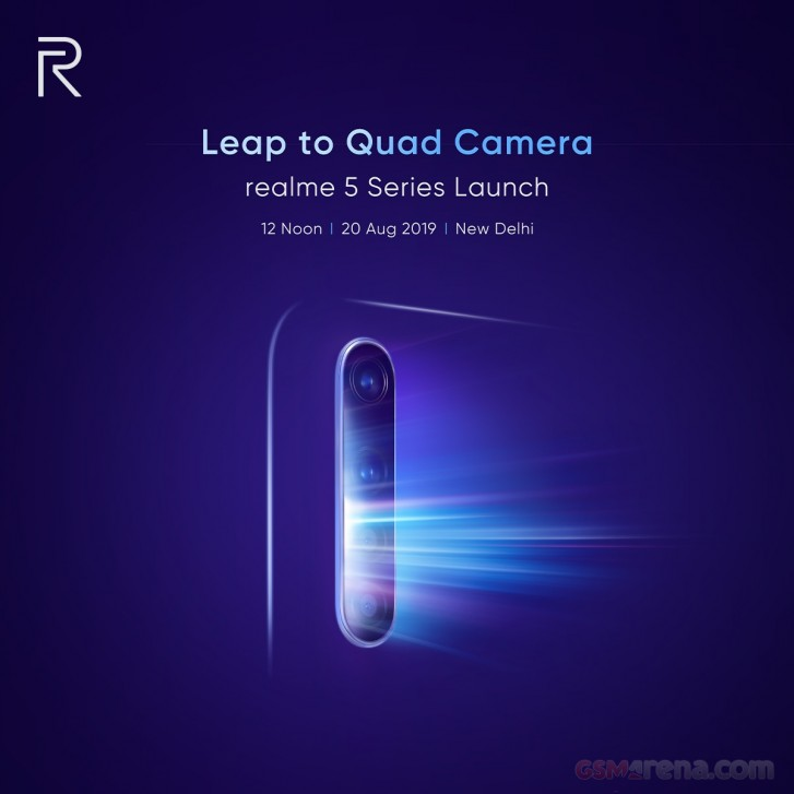 Les Realme 5 et Realme 5 Pro pourraient débarquer le 20 août prochain