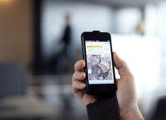 smartphone accéléromètre