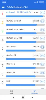 Antutu V2 Mi 9T Pro 194x420 - [ Test ] Xiaomi Mi 9T Pro : le Némésis du haut de gamme est arrivé