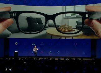 Facebook: des lunettes de réalité augmentée pour remplacer les smartphones?