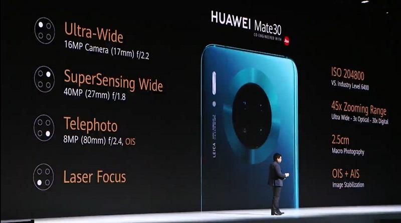 Huawei Mate 30 photo