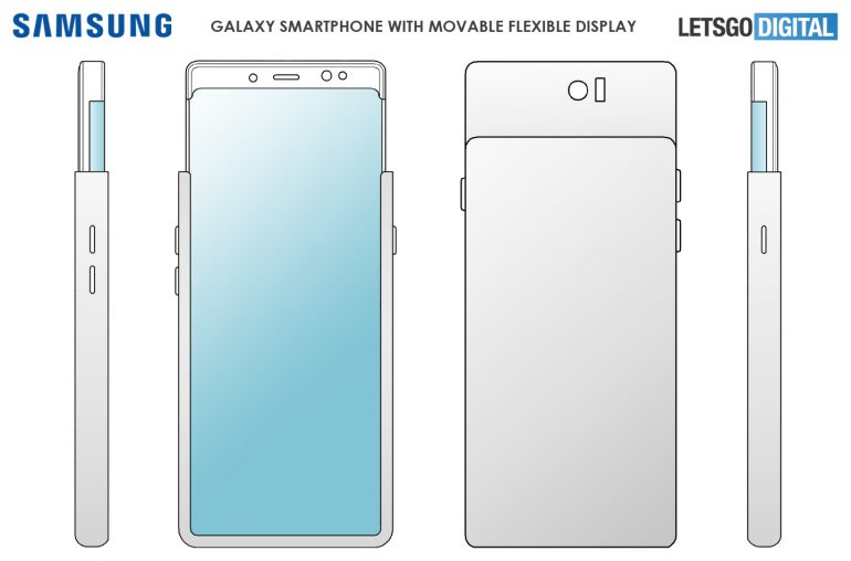 Samsung Galaxy S11 écran pliable