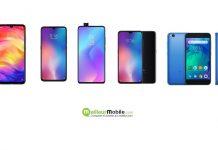 Téléphones Xiaomi