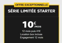 box internet SFR Starter ADSL