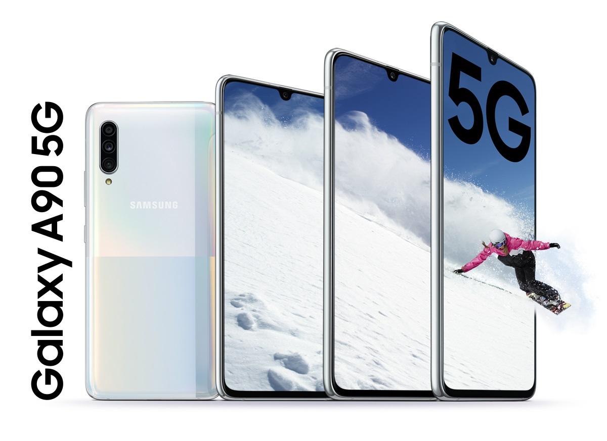 Samsung officialise enfin le Galaxy A90 5G