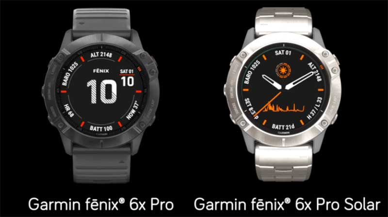 Montres connectées GPS : les Garmin Fênix 6 sont officielles