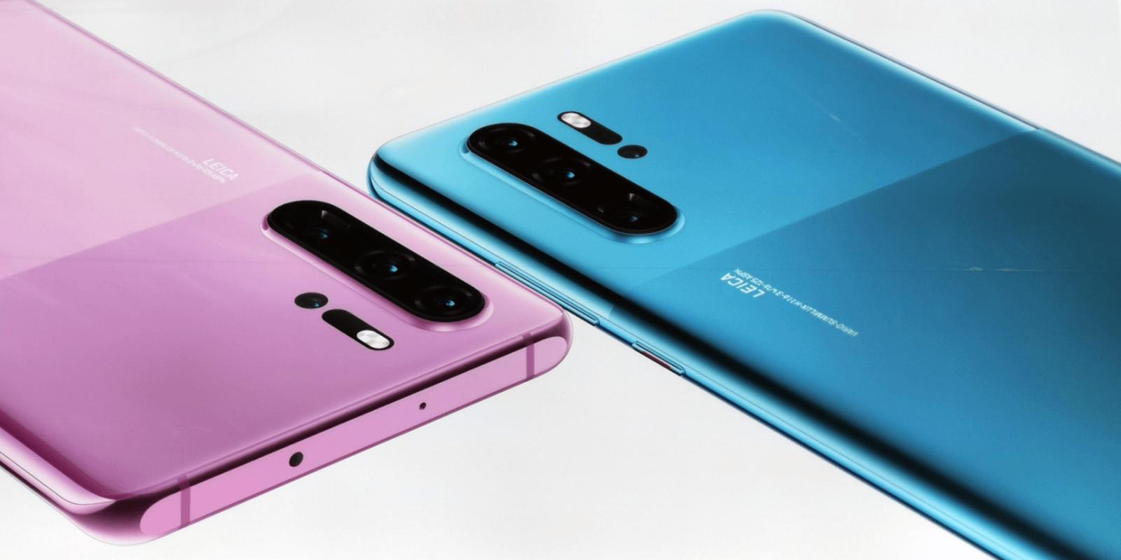 Nouveaux coloris Huawei P30 Pro