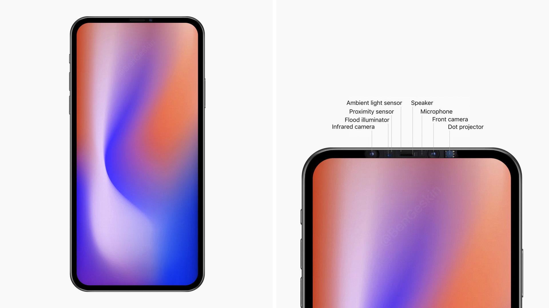 IPhone 2020 : l'affreuse encoche pourrait disparaître l'année prochaine